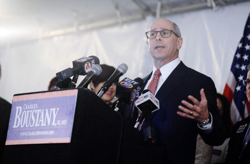 Boustany, saying he 'refuses to peddle the politics of fear, obstruction, division,' announces run for David Vitter's U.S. Senate seat _lowres