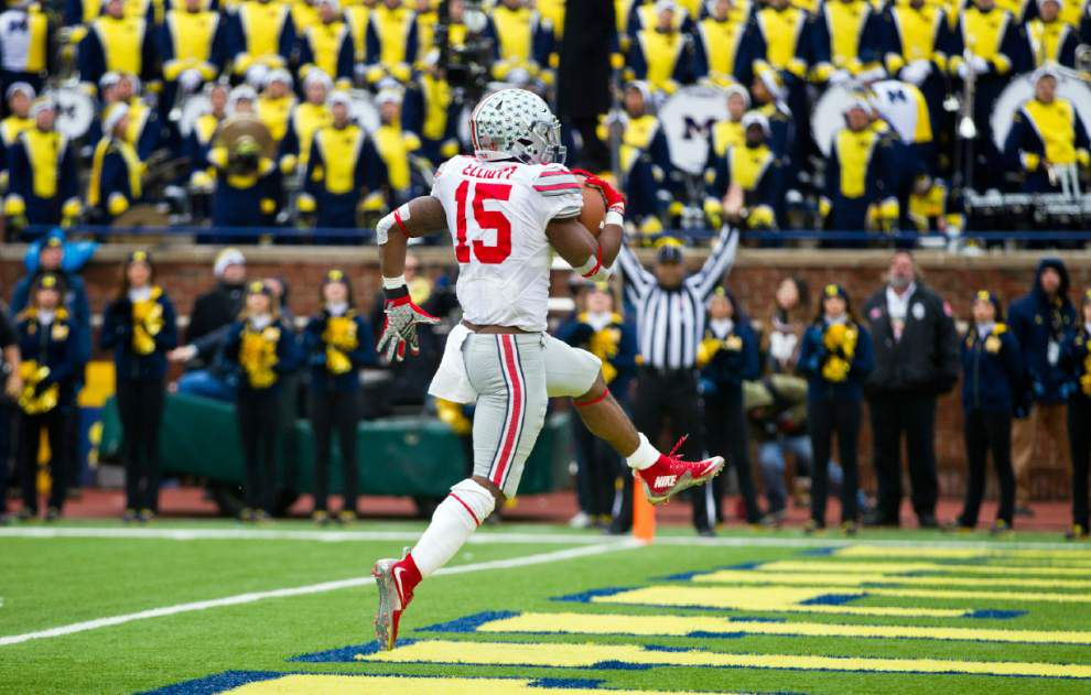 College Football Playoff puls: The Big Ten championship between Iowa and Michigan State amounts to a quarterfinal _lowres