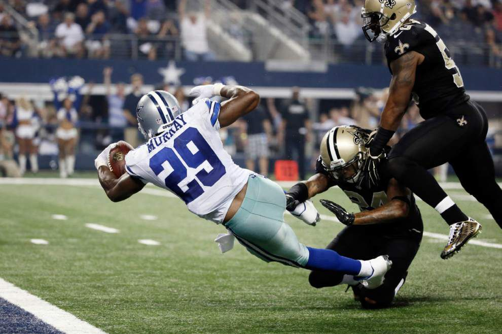 The Dallas Cowboys defeat the New Orleans Saints 38-17 _lowres