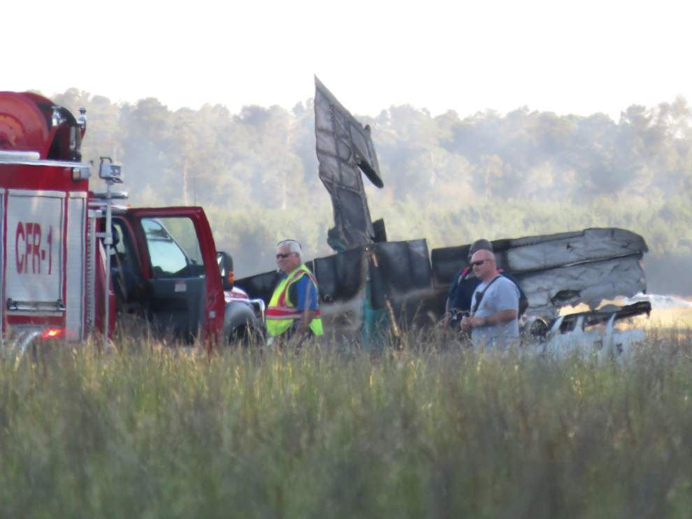 Loss of engine power led to airplane crash at Hammond airport on Oct. 14, NTSB reports _lowres
