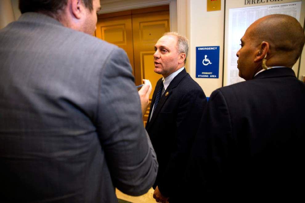 U.S. House Majority Whip Steve Scalise, R-Jefferson, backs Paul Ryan for House speaker _lowres