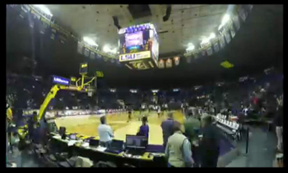 Timelapse video: LSU basketball's win over Ole Miss _lowres