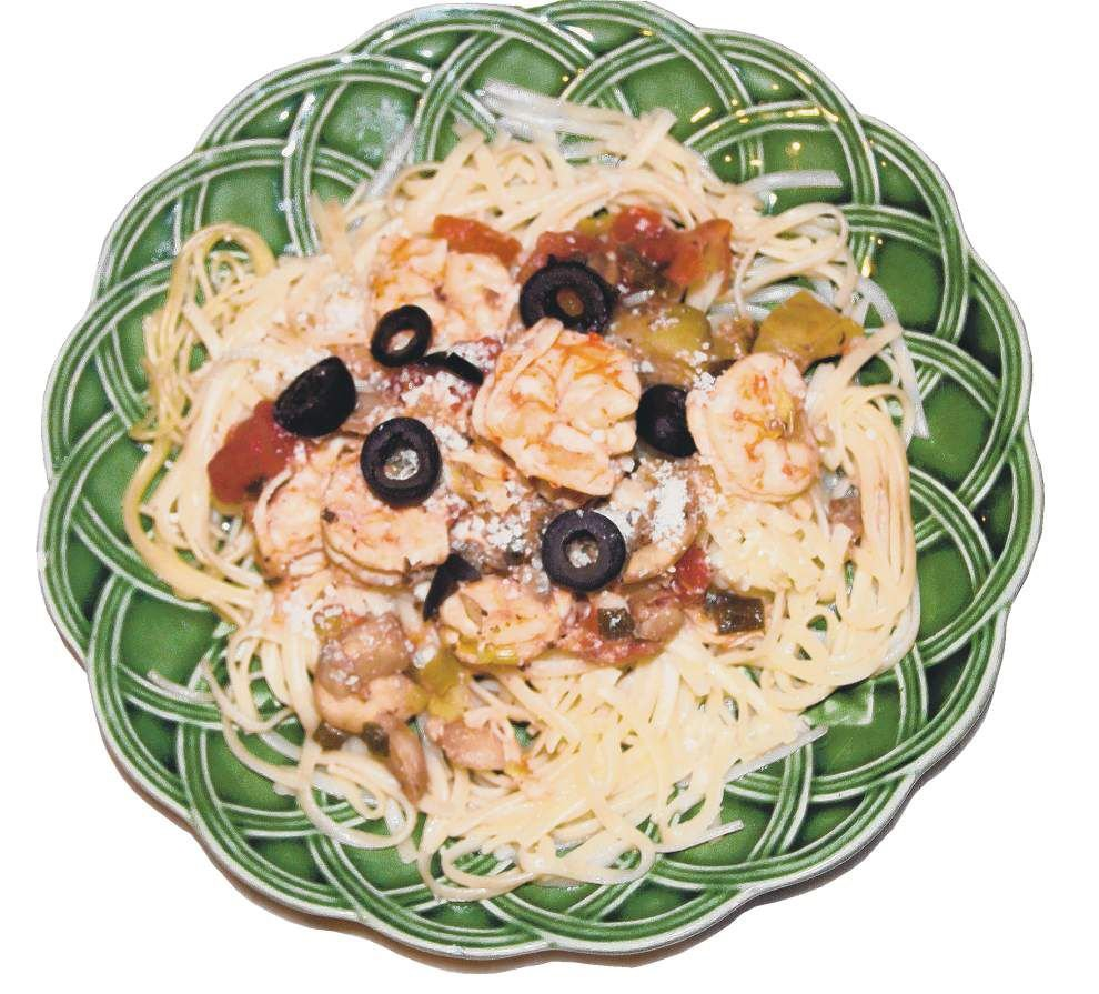 Nice and LIGHT     Try new twist on Italian shrimp and pasta _lowres