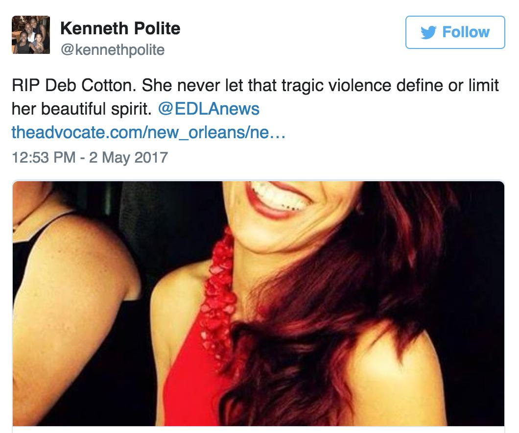 "New Orleans social media users remember Deborah ""Big Red"" Cotton_lowres"