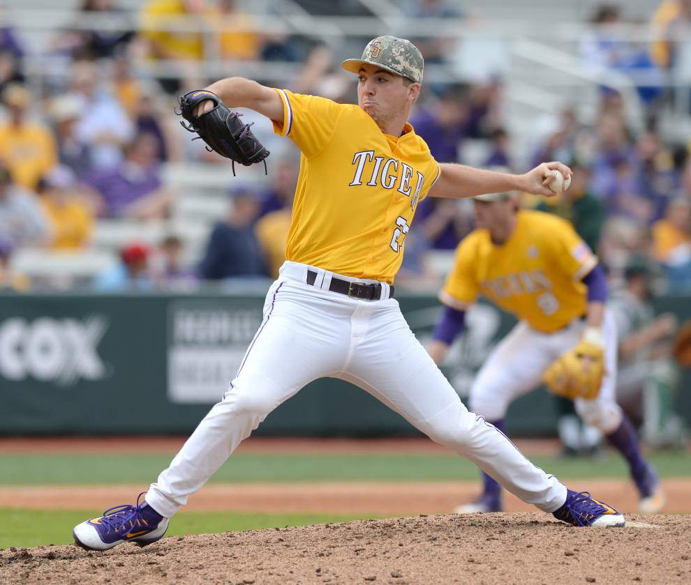 With clutch hitting that eluded it Saturday, LSU baseball team buries Sacramento State 11-1 for series win _lowres