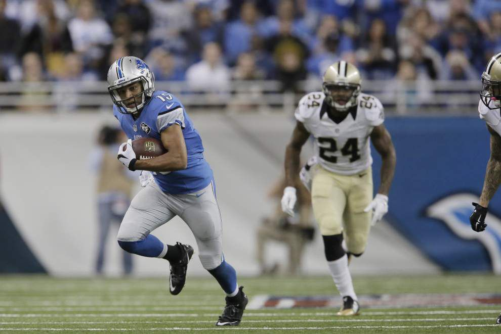 Lions receivers stand up in second half _lowres