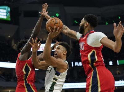 Pelicans Bucks Basketball