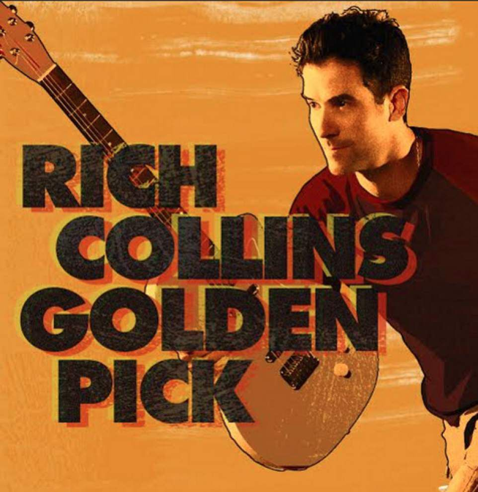 Imagination Mover Rich Collins flies solo with his new 'Golden Pick' CD _lowres