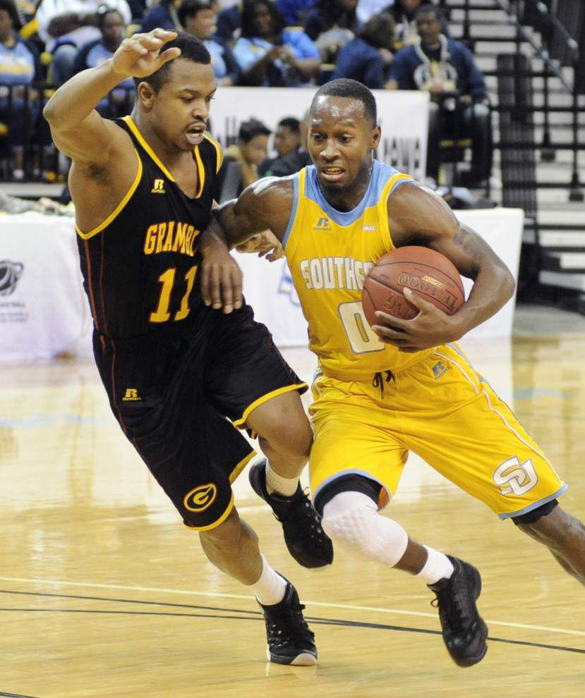 Christopher Hyder leads the way as Southern holds off Grambling _lowres