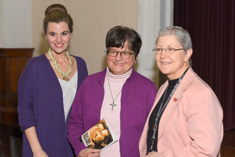 'Dead Man Walking' author visits Academy of the Sacred Heart _lowres