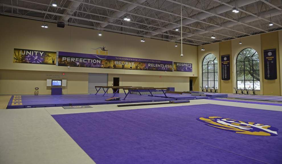 Photos: New LSU gymnastics facility unveiled Saturday _lowres