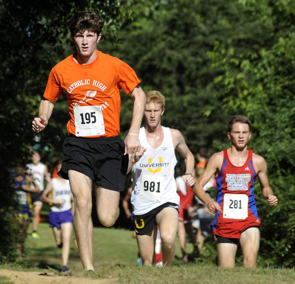 Devyn Keith, Annie Hill lead teams to cross country wins _lowres