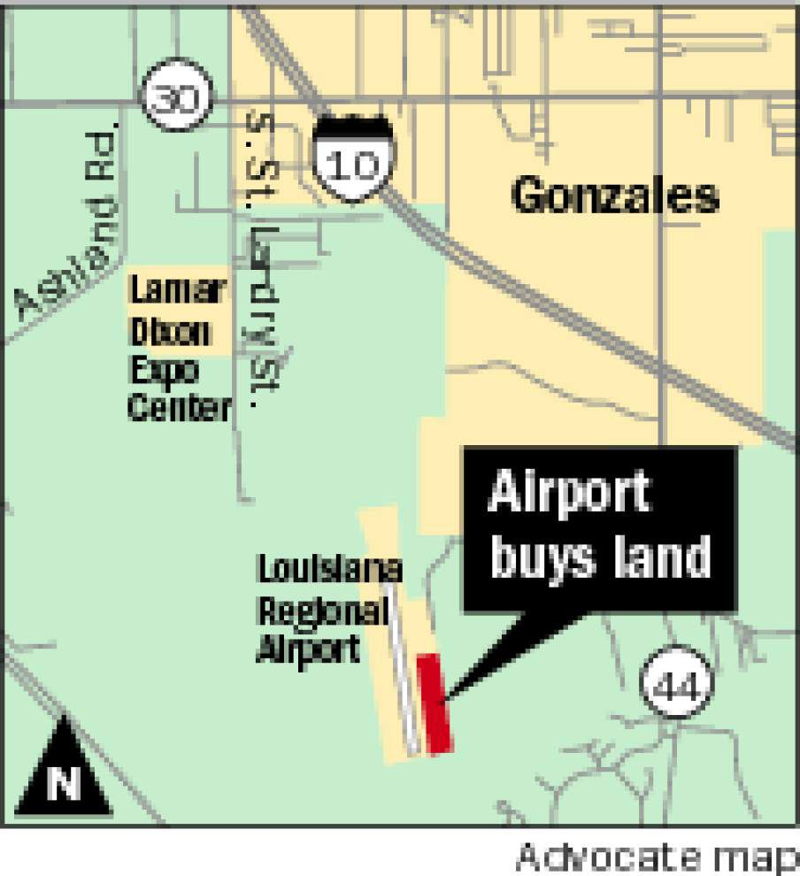 Ascension, St. James Airport gets more land; new, longer runway open _lowres