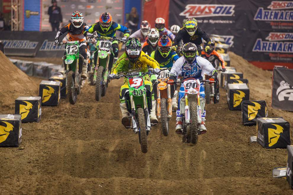Arenacross road to title roars through Smoothie King Center _lowres