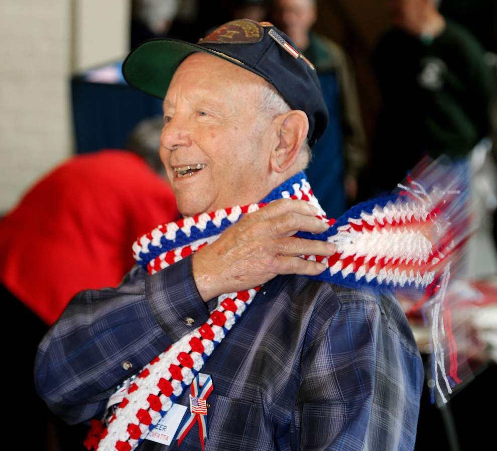 Veterans Day marked at the National World War II Museum _lowres