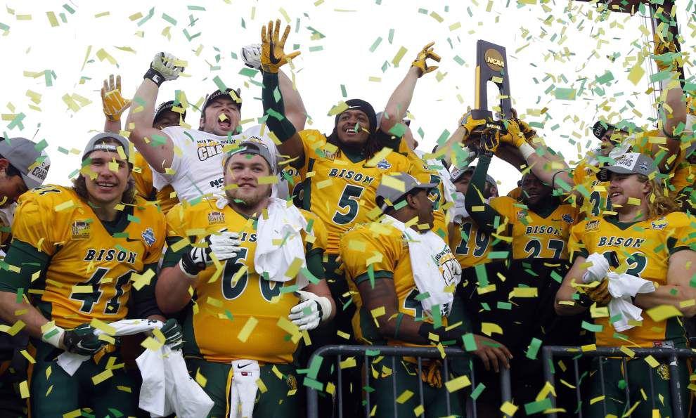 North Dakota State wins fifth straight FCS national championship _lowres
