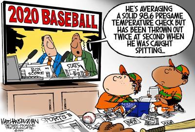 Walt Handelsman: 2020 Baseball
