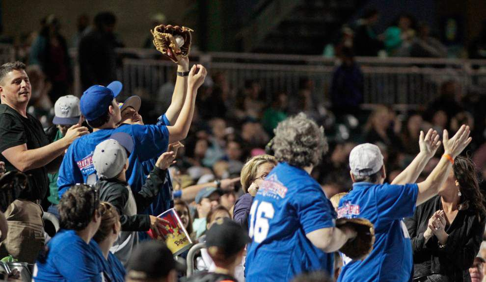 Cooler temperature doesn't diminish opening day for Zephyrs' faithful _lowres