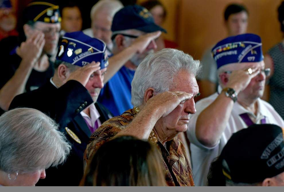 Check out sights, sounds from Veterans Day observances across Baton Rouge _lowres