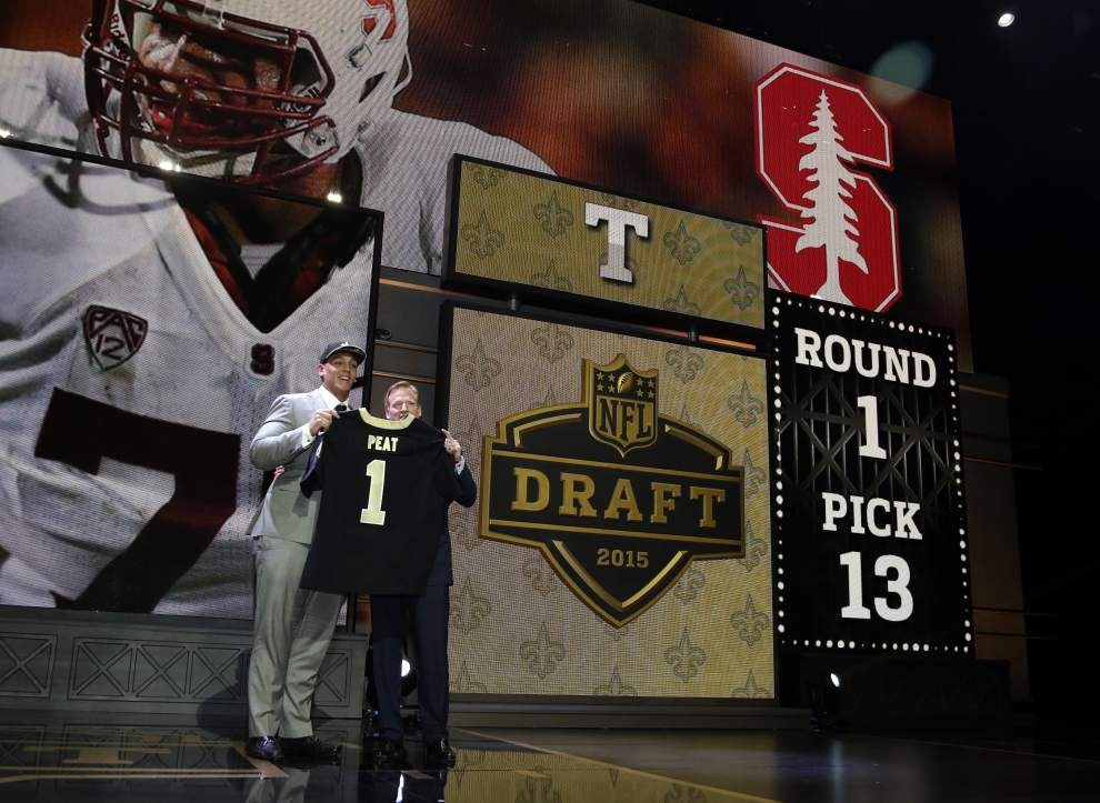NFL releases official draft order, including six picks for Saints _lowres