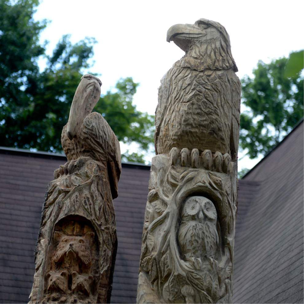 Turning trees into totems southeast theadvocate