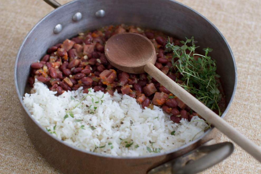 Red beans and rice: A take on the classic Louisiana dish from Food Network's Melissa D'Arabian _lowres