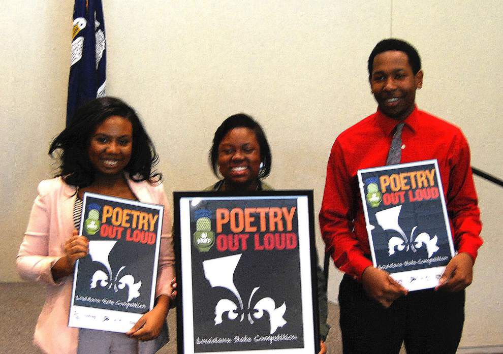 18 finalists compete in Poetry Out Loud contest _lowres