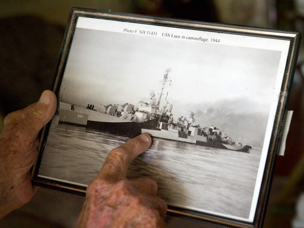 70 years later, Navy veteran will get Purple Heart for Okinawa injuries that dog him still _lowres