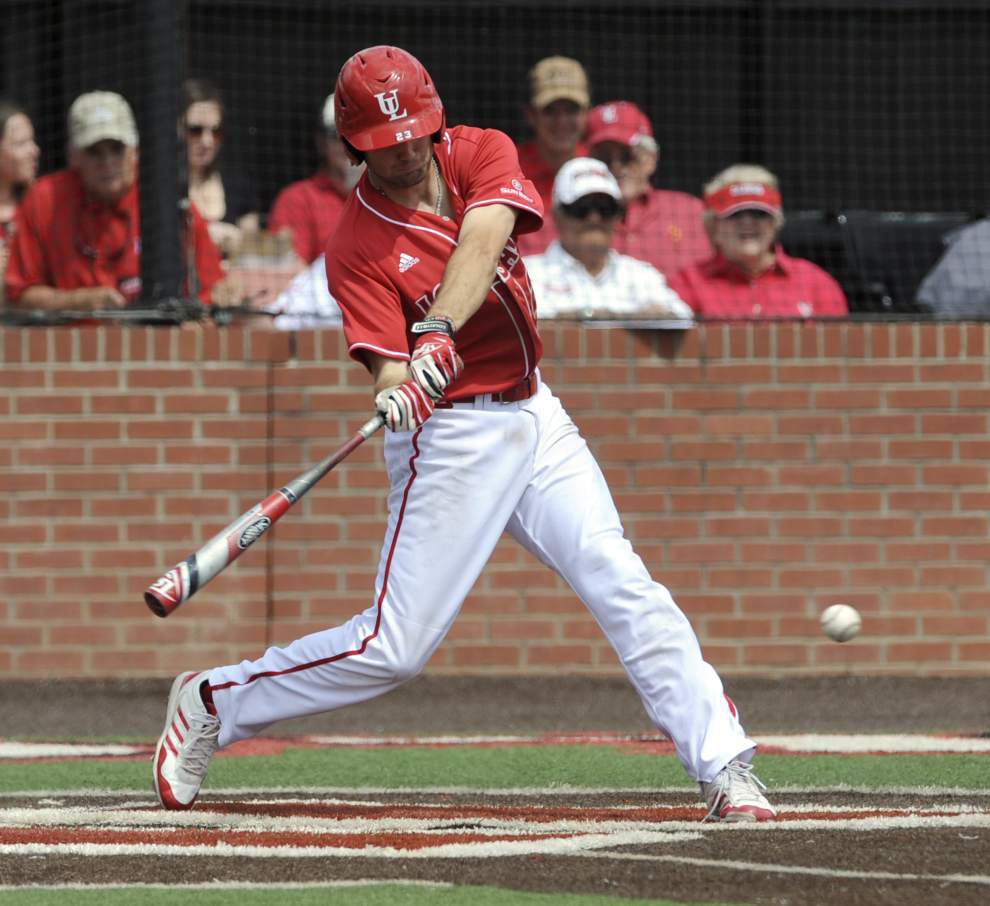 Ragin' Cajuns baseball team heating up ... because the offense is heating up _lowres