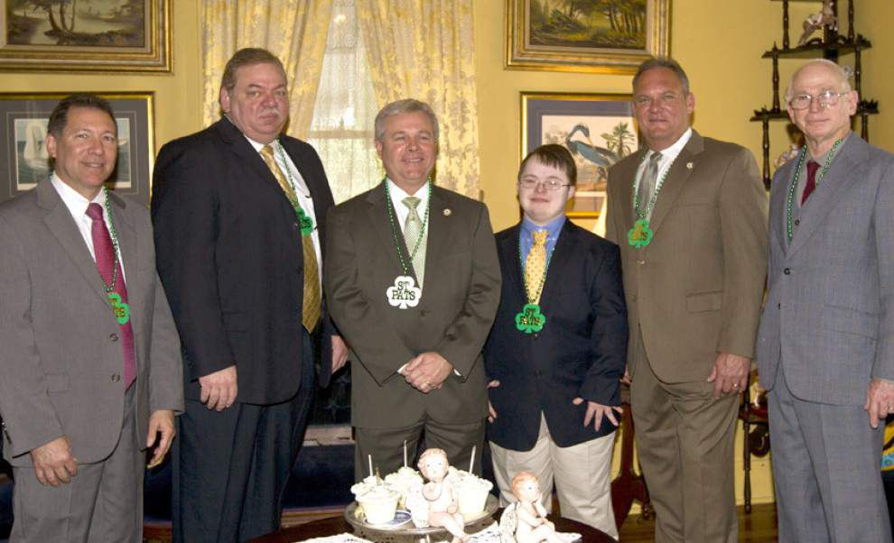 Olde Towne Slidell Association chooses St. Patrick's Day court _lowres