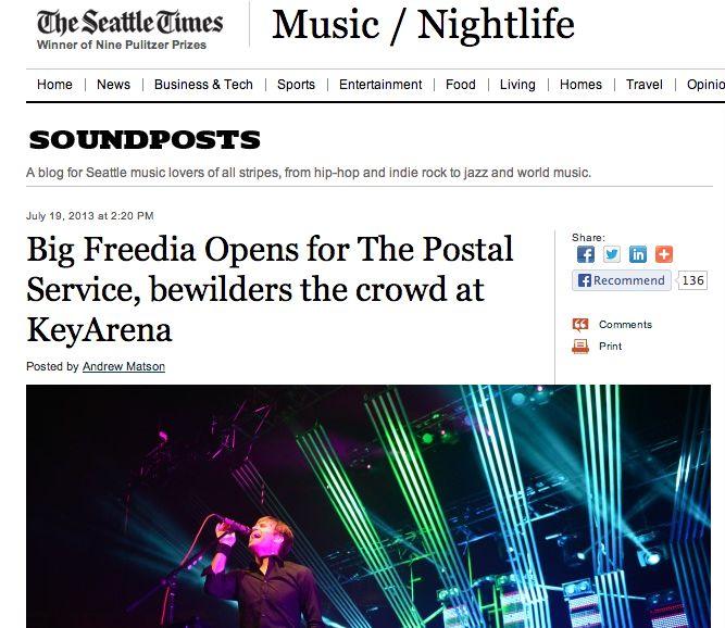 Big Freedia confuses, irritates Postal Service fans in the Northwest_lowres