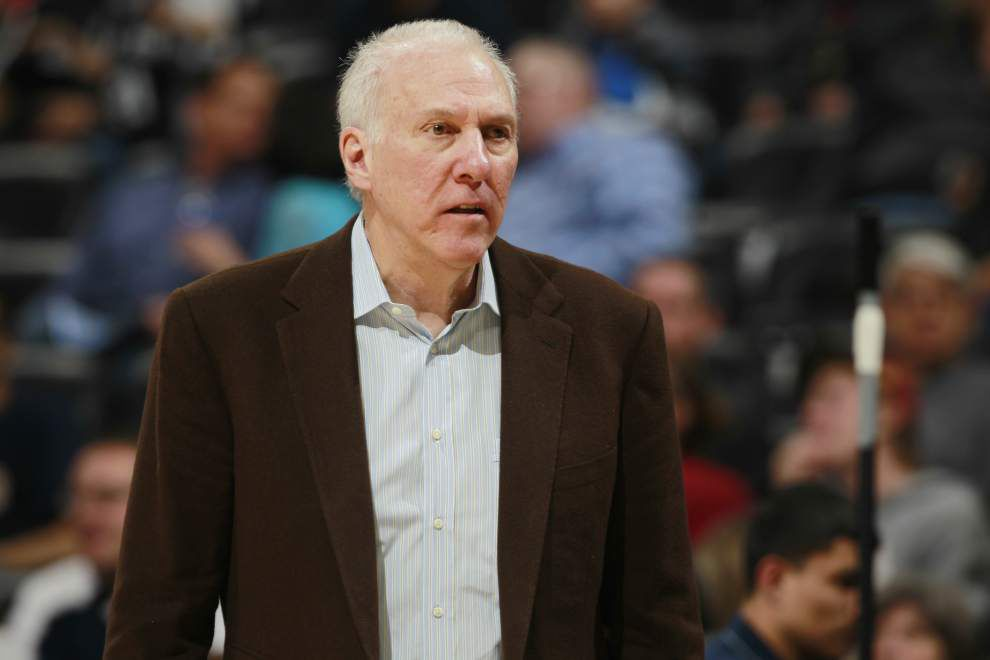 NBA notebook: Spurs' Gregg Popovich named coach of the year _lowres