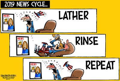Walt Handelsman: Lather, Rinse, Repeat...