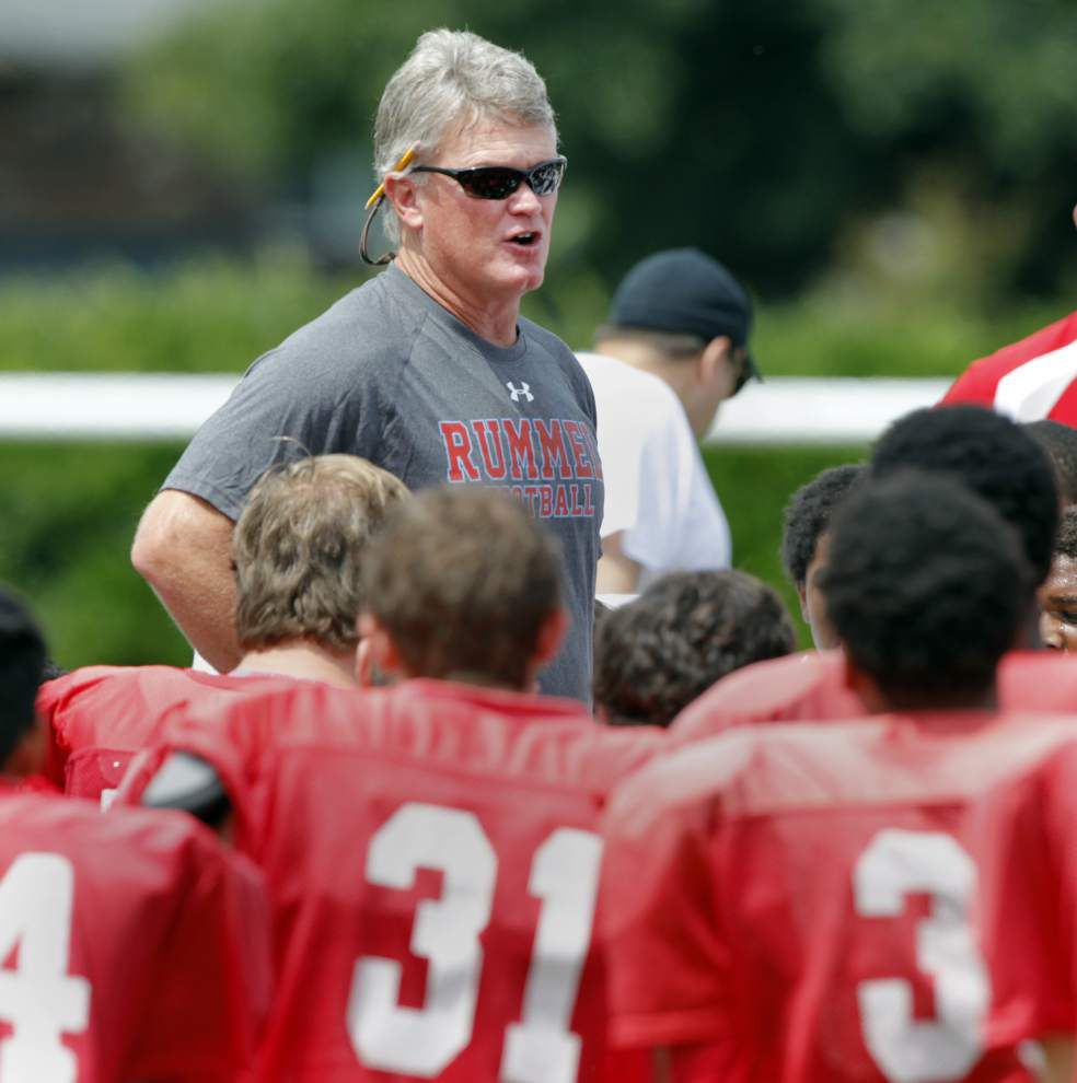 Rummel's defense asserts itself in intrasquad scrimmage _lowres
