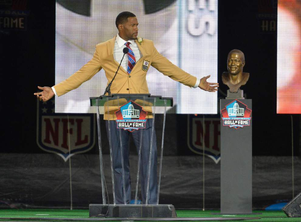 Andre Reed's emotion caps Pro Football Hall of Fame's big night _lowres