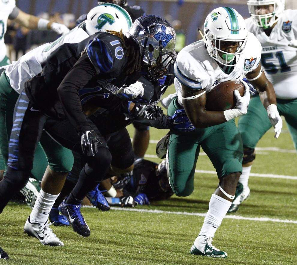 Memphis proves to have too much firepower in a 41-13 win over Tulane _lowres