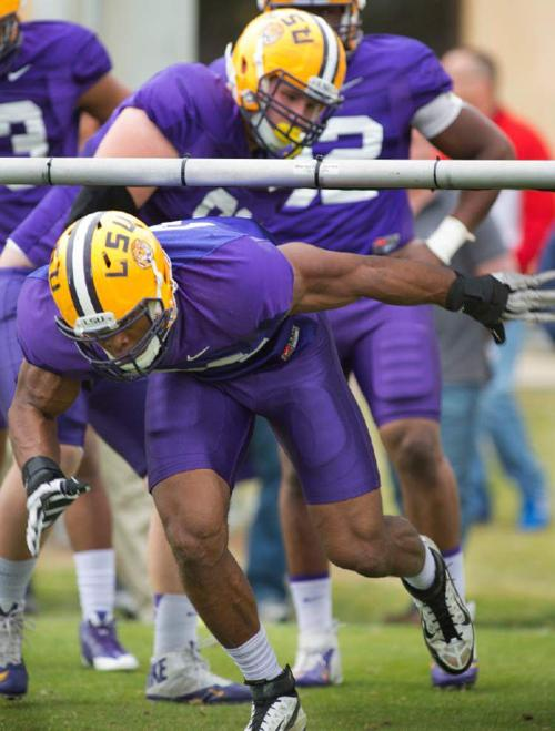 Video: Hunter says LSU defense improved during spring practices _lowres