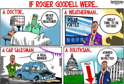 Walt Handelsman: If Roger Goodell Were...