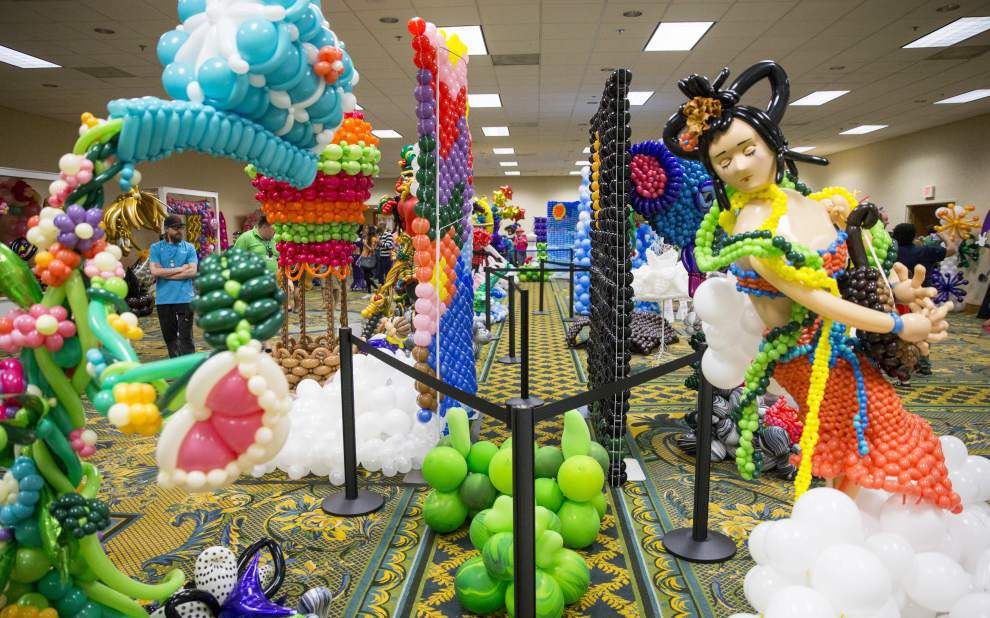 Photos: Festival of Balloons in New Orleans celebrates everything balloons _lowres