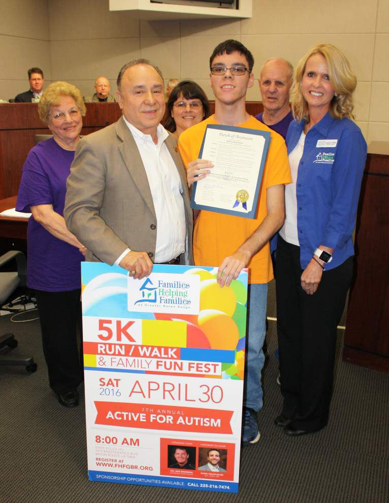 Ascension leader pushes autism awareness _lowres