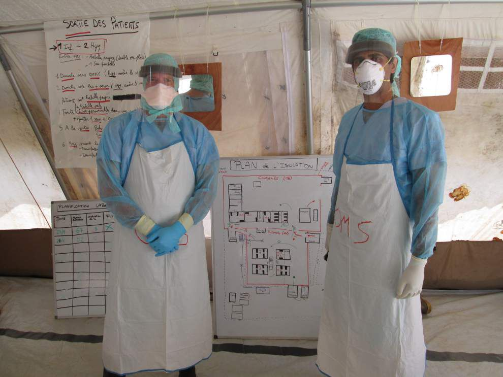 Tulane doctor has been at front line of Ebola fight _lowres