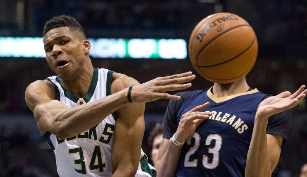 Pelicans' slide reaches 7 losses in 8 games with 103-92 defeat at Milwaukee _lowres