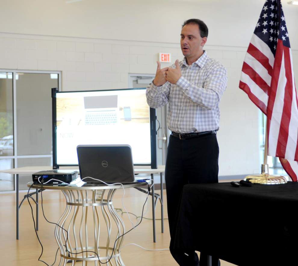 Inbound marketing 101 explained at Zachary Chamber luncheon _lowres
