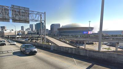 I-10 New Orleans stock