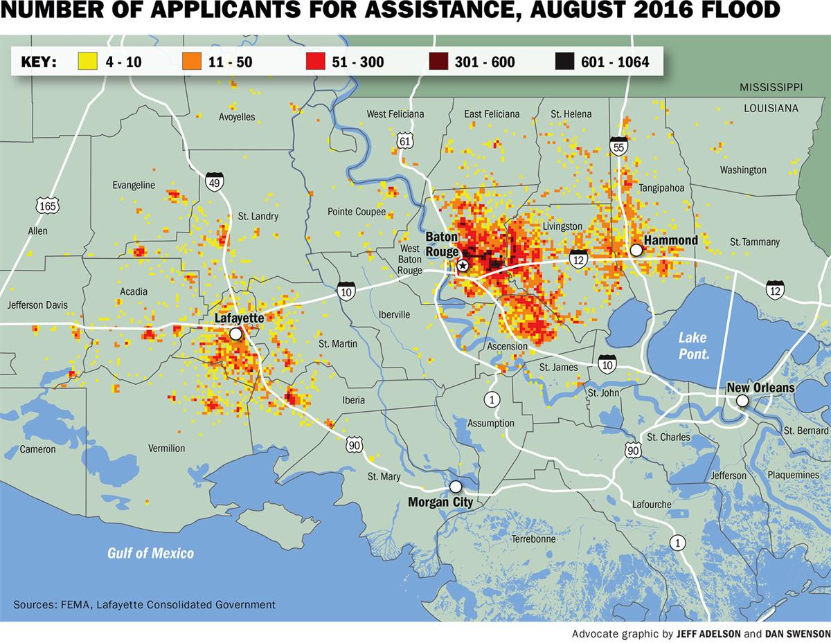 See Fema Claims Money Distributed In Your Baton Rouge Area