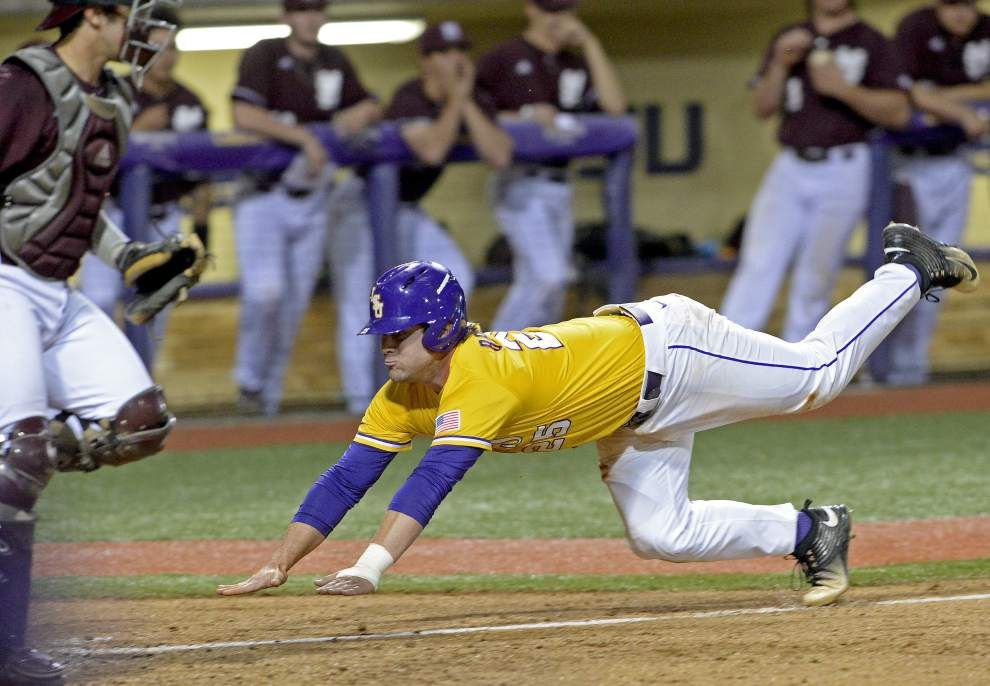 After three errors and a valiant comeback, LSU loses a sloppy, tension-filled series opener 12-8 to Mississippi State _lowres