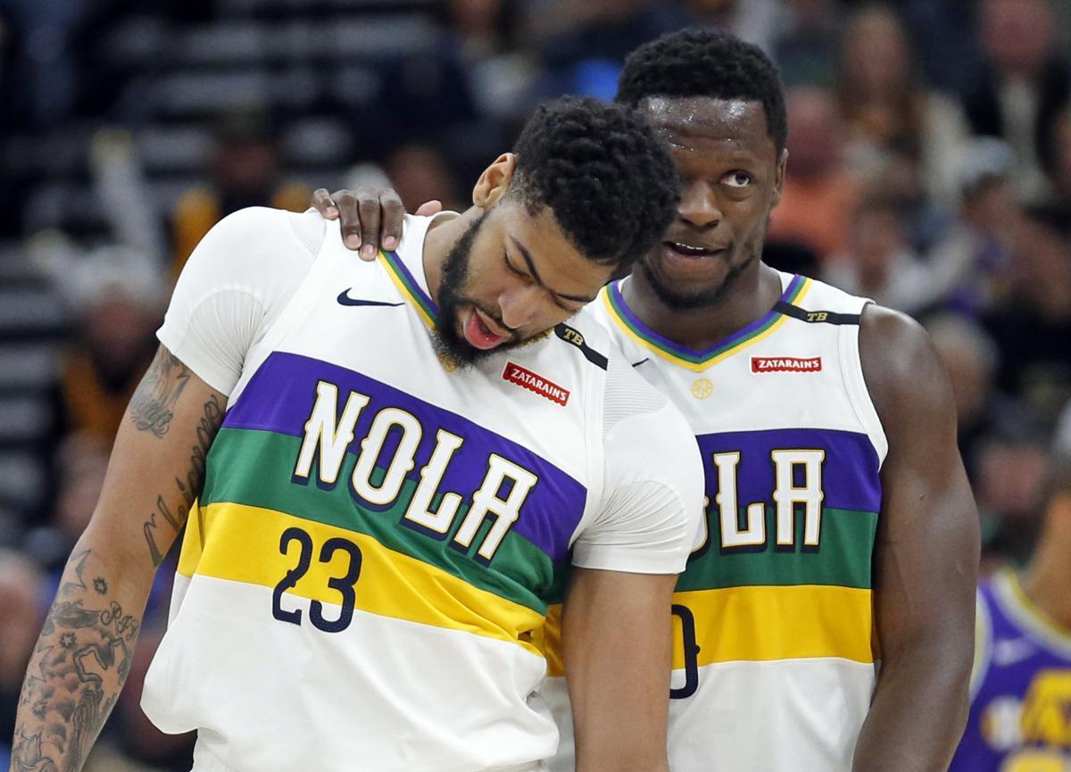 Pelicans Jazz Basketball