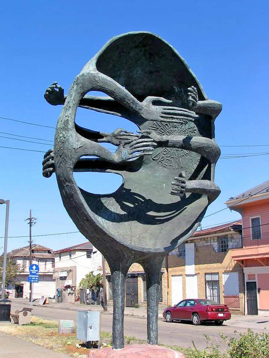 MLK sculptures