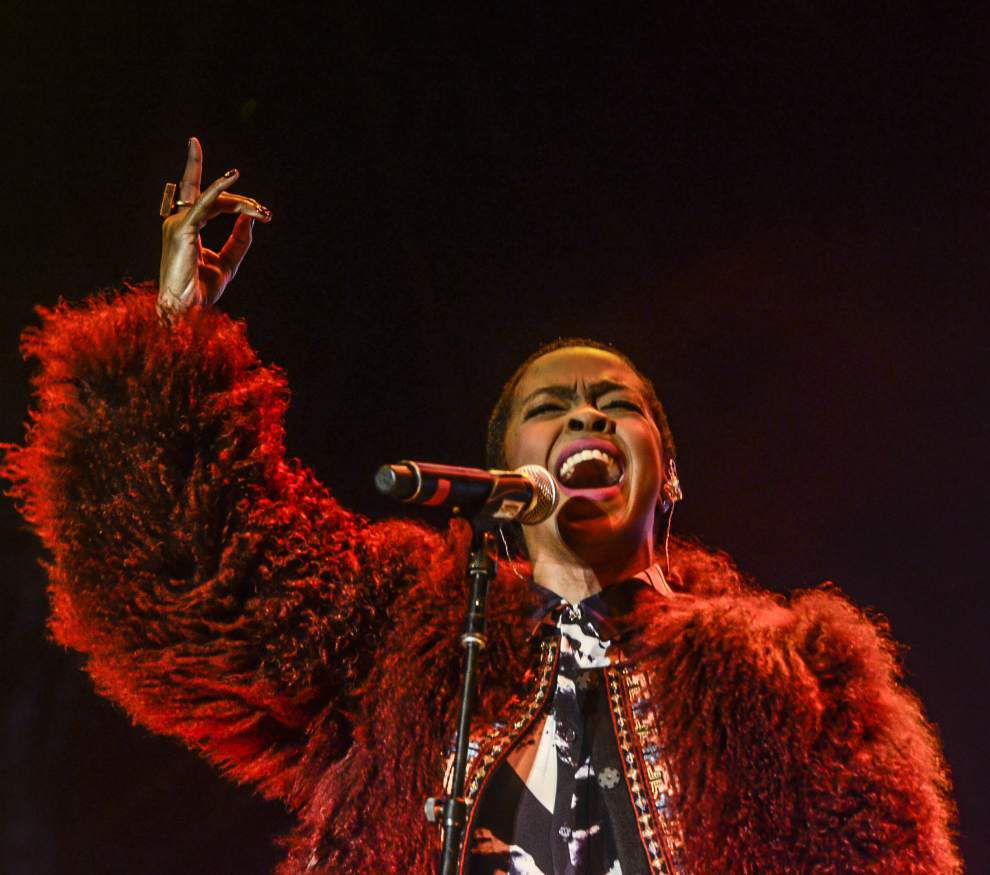 Voodoo Fest cuts off Lauryn Hill midsong after star shows up late _lowres