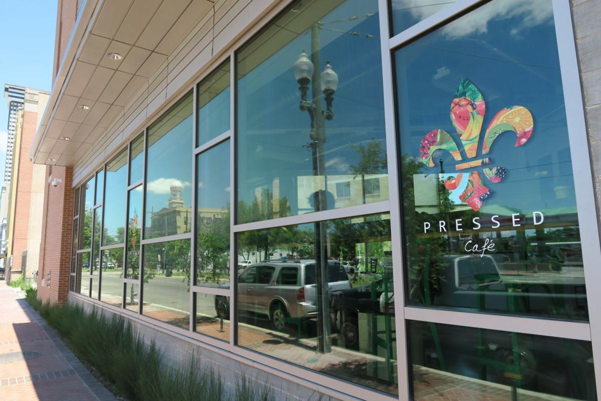 At Pressed, a new eatery on Lee Circle, sandwiches, salads and a ...